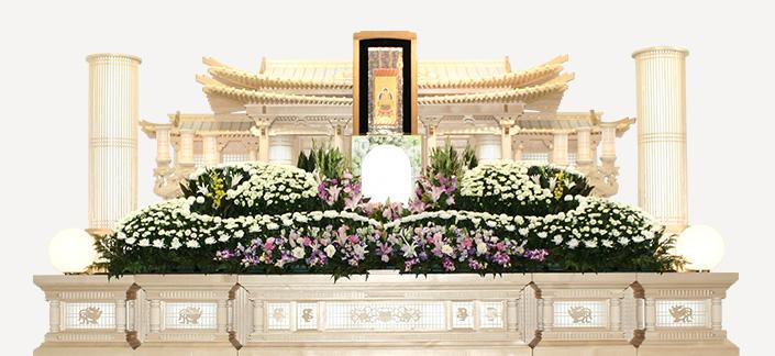 白木祭壇 燭